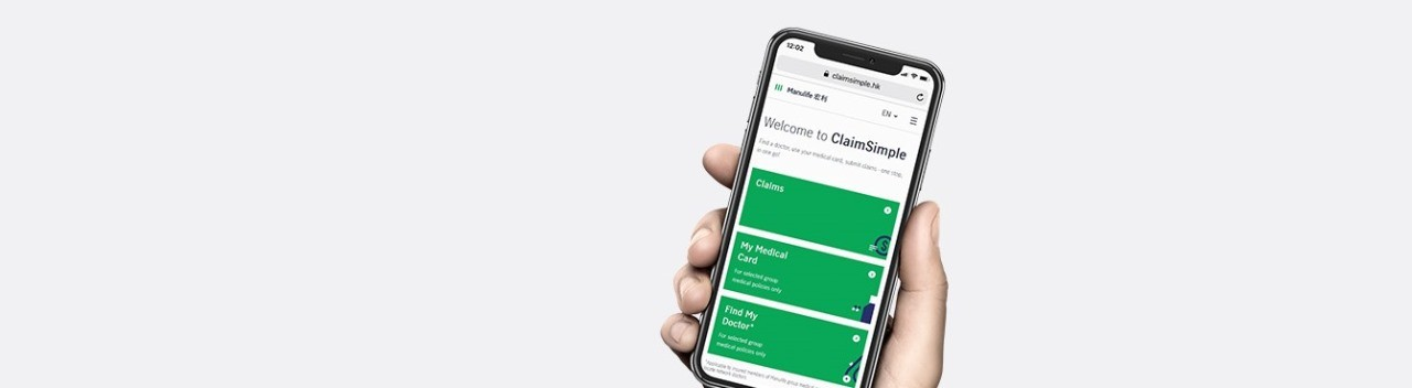 Manulife eClaim ClaimSimple hk for Individual Claims
